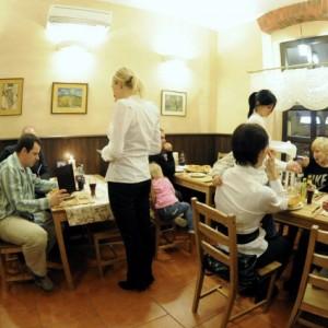 Smaczny posiłek w gronie rodziny