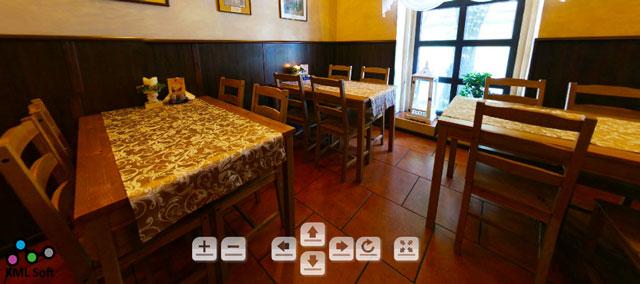 Wirtualny spacer po pizzerii Toscana